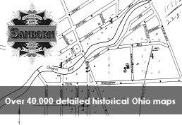 Sanborn Maps over 40,000 detailed historical Ohio Maps