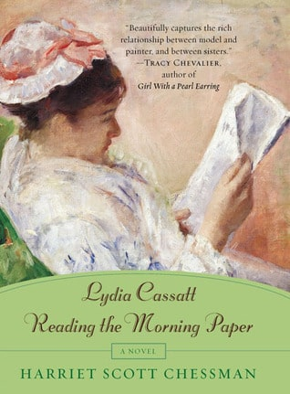 Lysia Cassatt Reading the morning paper by Harriett Scott Chessman
