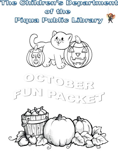 Fall packet for childrens